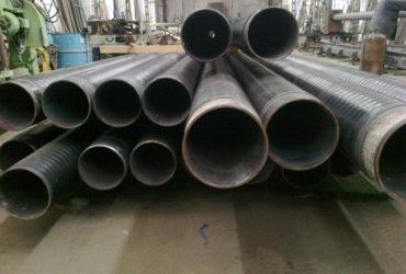 Трубы стальные ГОСТ 8732 – изоляция весьма усиленый тип (ВУС) экструдированый п/э с термоплавким адгезивным подслоем