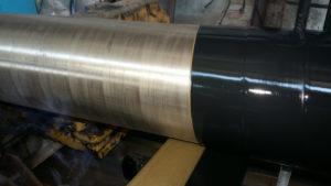 Модифікована полімерна композиція аклен 02 для нанесення двошарових антикорозійних заводських та базових покриттів сталевих труб