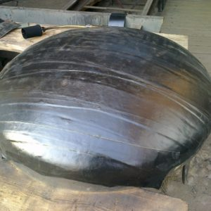 Buttweld Carbon Steel End Caps Astm A234 En 10253-2 Coated With Mono- 2- 3 Layer Extruded PE/PP