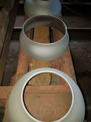 Перехід сталевий ДН 630*12х530*10 (ДУ 600*500) з дво-тришаровим антикорозійним покриттям (дуже посилений тип)