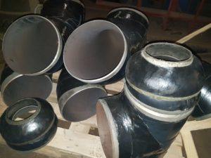 Відведення сталеве ДН 219мм х 5мм (ДУ 200) з дво-тришаровим антикорозійним покриттям (дуже посиленого типу – вус)