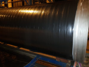 Труба ДН 325х6,7,8,9,10,12,14 мм. ДСТУ (ГОСТ) 20295 магістральна ізольована моношаровим, двух-трьохшаровим покриттям типу (ВУС)