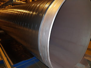 (УКР) Труба ДН 325х,4,5,6 мм. ДСТУ (ГОСТ) 8696 спіралешовна ізольована моношаровим, двох-трьохшаровим покриттям типу (ВУС)