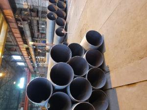 Труба ДН 168х6,7,8,9,10,12,14 мм. ДСТУ (ГОСТ) 20295 магістральна ізольована моношаровим, двух-трьохшаровим покриттям типу (ВУС)