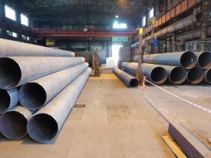 Труба ДН 720х6,7,8,9,10,12,14 мм. ДСТУ (ГОСТ) 20295 магістральна ізольована моношаровим, двух-трьохшаровим покриттям типу (ВУС)