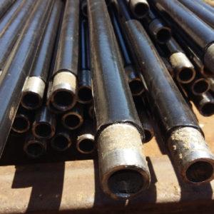 Труба ду 6мм ДН 10, 2*1,8; 2,0; 2,5 мм. ДСТУ (ГОСТ) 3262 ізольована моношаровим, двух-трьохшаровим покриттям типу (ВУС)
