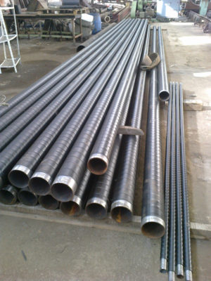 (УКР) Труба ДН 133*2,5; 2,8..8,0 мм. ДСТУ (ГОСТ) 8732 безшовна ізольована моношаровим, двох-трьохшаровим покриттям типу (ВУС)