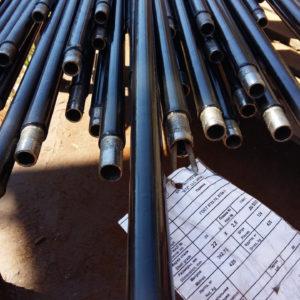 Труба ДН 102*2,5; 2,8..8,0 мм. ДСТУ (ГОСТ) 8732 безшовна ізольована моношаровим, двох-трьохшаровим покриттям типу (ВУС)