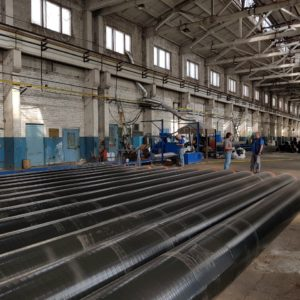Pre-Insulated Circular Steel Pipes Of En 10219 Specifications With Mono-2-3-5-7 Layer PE/PP Extruded Coating And Internal PE/PP Lining