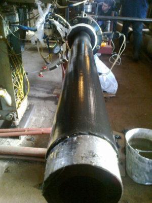 (УКР) Труба ДН 146*2,5; 2,8..8,0 мм. ДСТУ (ГОСТ) 8732 безшовна ізольована моношаровим, двох-трьохшаровим покриттям типу (ВУС)
