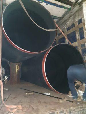 Внутренняя изоляция стальных труб монослойным PE / PP покрытием