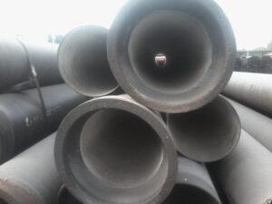 Труба ВЧШГ  дн.80мм. с наружным цинковым и эпоксидным покрытиями, а также внутренним цементно-песчаным покрытием