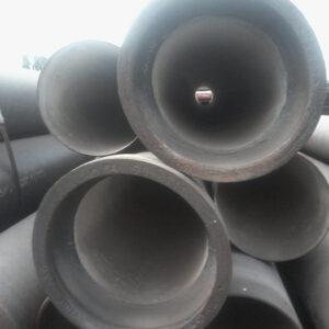 (РУС) Труба ВЧШГ  дн.80мм. с наружным цинковым и эпоксидным покрытиями, а также внутренним цементно-песчаным покрытием